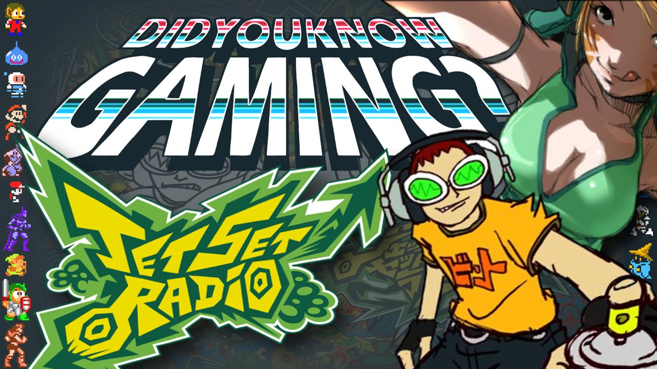 The Man Tried To Shut Sega's Jet Set Radio Graffitti Party Down