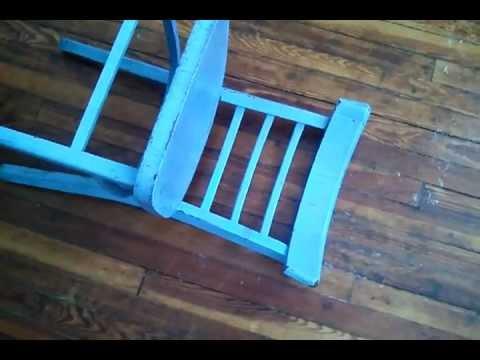 miten nostaa sininen tuoli