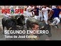 Vídeo de encierros de toros