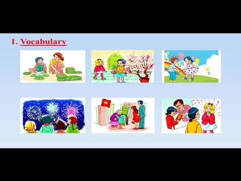TIẾNG ANH  - UNIT 15. WHEN'S CHILDREN'S DAY (TIẾT 1)