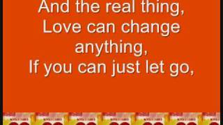 Real Thing by Boys Like Girls (With lyrics on screen!)