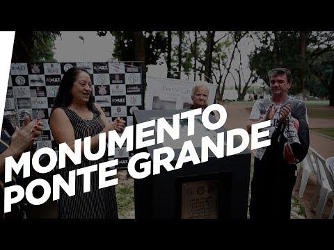 Inauguração do monumento da Ponte Grande