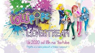 LOLLIPOPZ - Náš první stream!