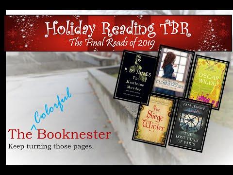 2019 Holiday December TBR | Final 3 of 2019 BOOK BINGO