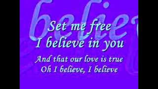 TATA YOUNG - I BELIEVE (LYRICS)