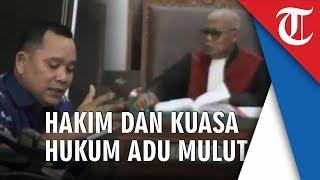 Hakim Terlibat Adu Mulut dengan Pengacara Kivlan Zen