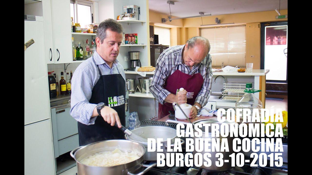 VISITA A LA COFRADIA GASTRONOMICA: LA BUENA COCINA DE BURGOS