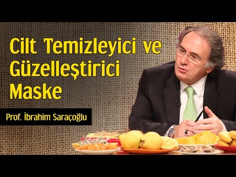 Cilt Temizleyici ve Güzelleştirici Maske | Prof. İbrahim Saraçoğlu