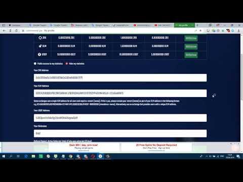 Новый жирный кран  КриптоВалюту ZRX , XLM , USDT 2019