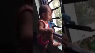 Ignoring Sashi Dada watching outside - Laxgan