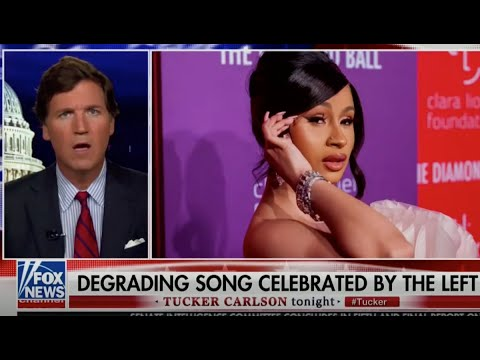 Tucker Carlson Offended By Cardi B