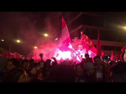 """""""Festejos por el Centenario Hinchada de Instituto"""" Barra: Los Capangas • Club: Instituto"""