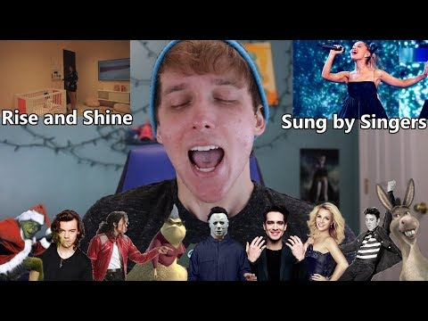 Rise and Shine but in SINGER IMPRESSIONS!!