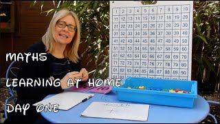 Reception MATHS Day 1 - Learning At Home