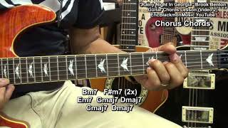 How To Play RAINY NIGHT IN GEORGIA Brook Benton On Guitar Chords Lesson Video #2