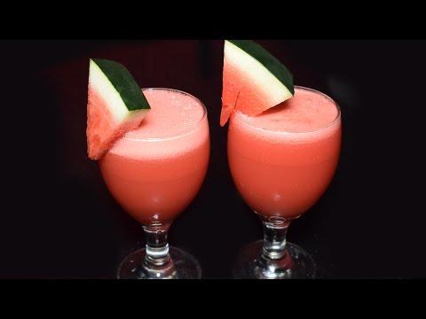 Video Tarbooz Ka Sharbat - How to Make Watermelon Juice Recipe - Drink recipes for Summer