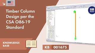 KB 001675 | Timber Column Design per the CSA O86-19 Standard