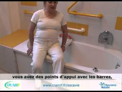 CICAT ESCAVIE -CRAMIF - Handicap et aides techniques - Accès à la baignoire