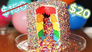 I Tried To Make A $20 Version Of A $150 Cake • Tasty