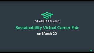 Join The Sustainability Virtual Career Fair!