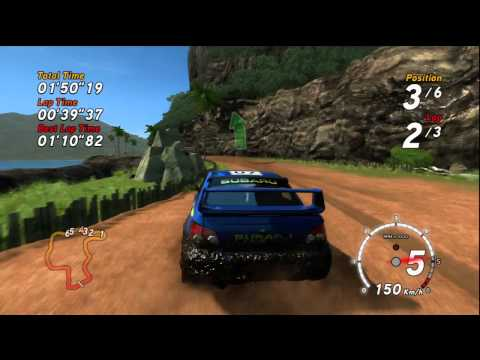 Видео № 1 из игры SEGA Rally (Б/У) [PS3]