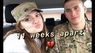Seeing Each Other After 11 Weeks *Military Couples*