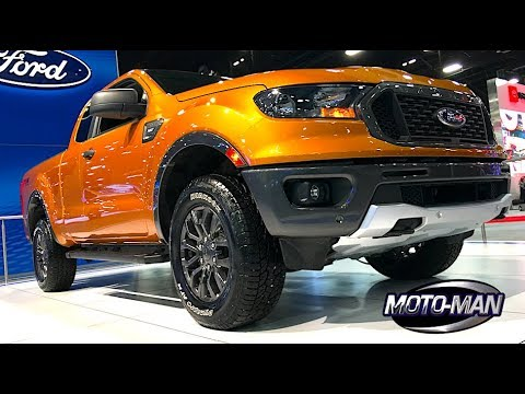 2019 Ford Ranger + 2019 Lincoln Aviator PHEV + Toyota I-ROAD & More @ Miami International Auto Show