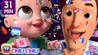*New* Johny Johny Yes Papa Confetti Song + More ChuChu TV 3D Nursery Rhymes & Kids Songs