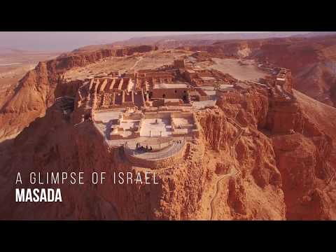 A glimpse of Masada