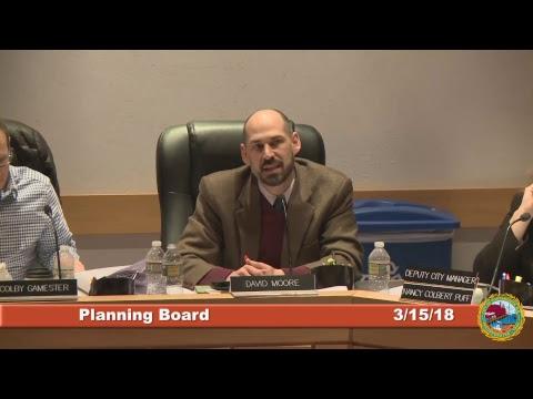 Planning Board 3.15.18