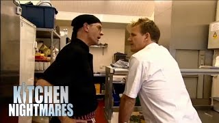 Hilarious Argument - Ramsay's Kitchen Nightmares
