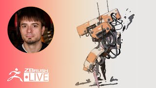 ZClassroom LIVE: 3D Illustrations - Pixologic Joseph - ZBrush 2020