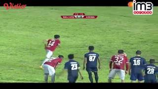 Bali United Vs Arema Cronus 22 Highlights TSC 3 Desember 2016