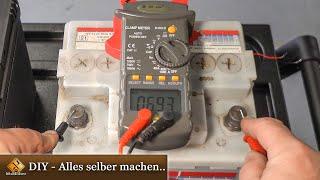 Wie erkennt man eine defekte Autobatterie?