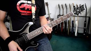 36 Crazyfists - Bloodwork (Guitar Cover)