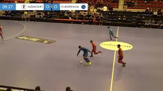 Finale Régionale Futsal U15 (Besançon) : AS Audincourt / FC Morteau Montlebon (1-0)