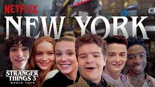 Stranger Things 3 World Tour | New York City | Episode 1
