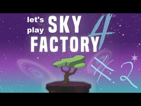 Minecraft Sky Factory 4 of Sky Madness