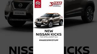 New Nissan KICKS with First-in-class Around View Monitor
