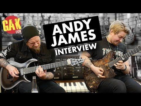 ANDY JAMES Interview w/Joss Allen | Boss GT1000