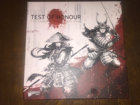 Test of Honour Samurai Miniatures game by warlord games