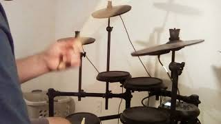 Foreigner can't wait drum cover