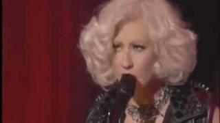 Christina Aguilera  Dirrty [Live]