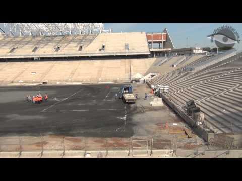 29/11/2012 - Por dentro da Obra da Arena Corinthians