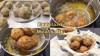 Eggplant Meatballs | Talong Bola-bola | KitcheNet Ph