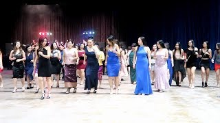 La Crosse Hmong New Year Party 10-2018 | Line Dance