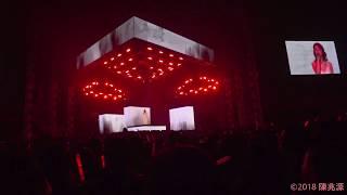 [紅蔷薇白玫瑰 鄧紫棋掩眼哭泣] G.E.M. Queen of Hearts Taipei 20180324