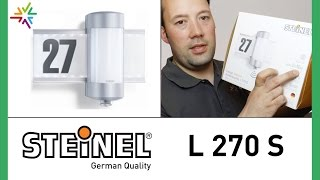 """""""STEINEL L 270 S"""" Design Sensor Außenleuchte [watt24-Video Nr. 71]"""