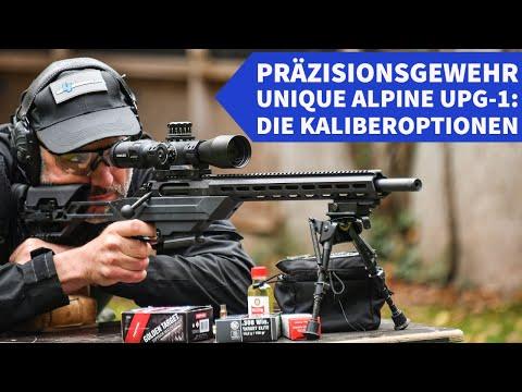 Unique Alpine: Test: Unique Alpine UPG-1 in .308 Win. − das preiswerte Präzisionsgewehr auf bis zu 300 m geschossen