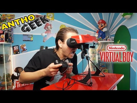 LE VIRTUAL BOY ! LE PLAYSTATION VR DE NINTENDO ?! (Anthogeek)